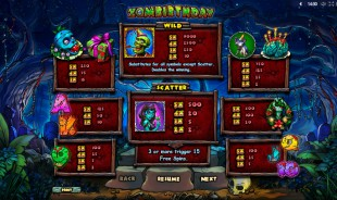 Zombirthday™ Slot Machine Game to Play Free in Playsons Online Casinos