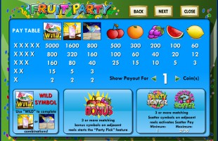preview Fruit Party 2