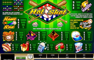 Machine à sous Hot Shot gratuit dans Microgaming casino