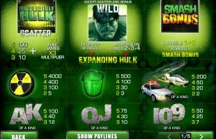 aperçu jeu Hulk 2