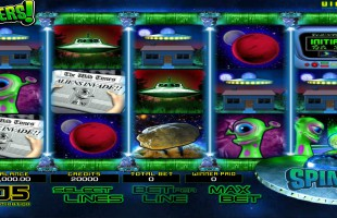 Machine à sous Invaders gratuit dans BetSoft casino