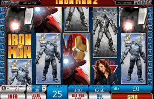 Machine à sous Iron Man 2 gratuit dans Playtech casino