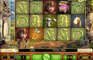 jeu Jack and the Beanstalk