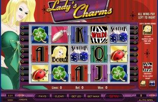 jeu Lady's Charms