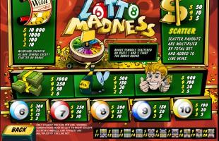 aperçu jeu Lotto Madness 2