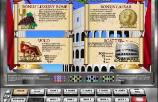 aperçu jeu Luxury Rome 2