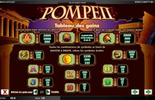 aperçu jeu Pompeii 2
