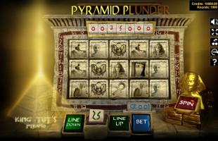 aperçu jeu Pyramid Plunder 1
