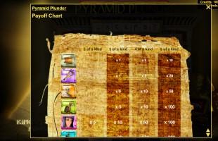 aperçu jeu Pyramid Plunder 2