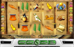 jeu Secrets of Horus