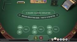 jeu 3 Hand Casino Hold'em