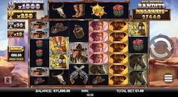 jeu Big Bucks Bandits Megaways