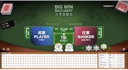 jeu Big Win Baccarat