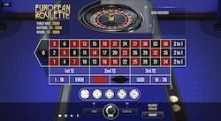 jeu European Roulette