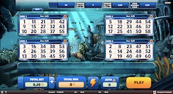 jeu Gold of Poseidon Bingo