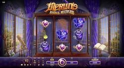 jeu Merlin's Mystical Multipliers