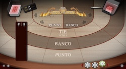 jeu Punto Banco