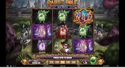jeu Rabbit Hole Riches