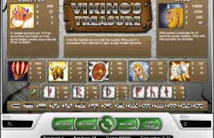 aperçu jeu Viking's Treasure 2