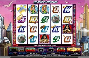 aperçu jeu Wonder Woman 1