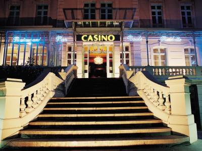 Casino de Salies de Béarn facade
