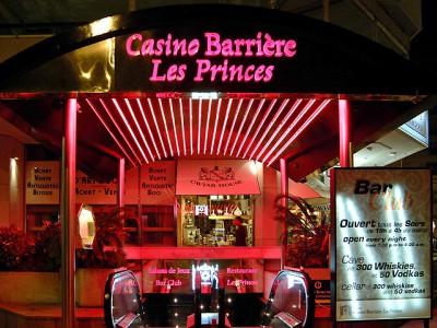 Les Princes casino  facade