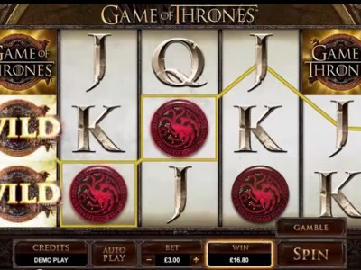 Machine à sous Game of Thrones