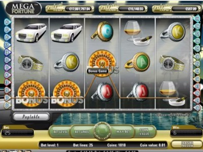 Jackpot record de 17,8€ millions sur Mega Fortune