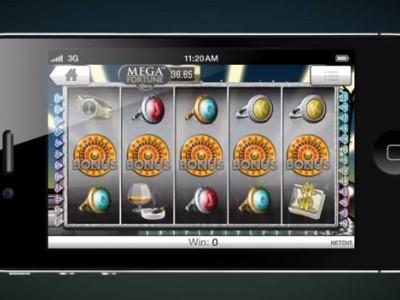 Machine à sous Mega Fortune sur mobile/tablette