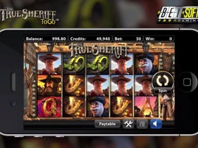 Machine à sous The True Sheriff version mobile/tablette